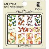 Moyra Nail Art Sticker Watertransfer No.05_